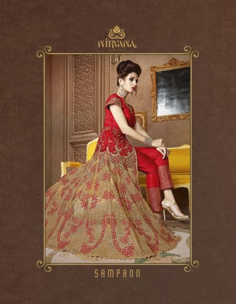 NIRVANA 5101 TO 5108 DESIGNER GOWN