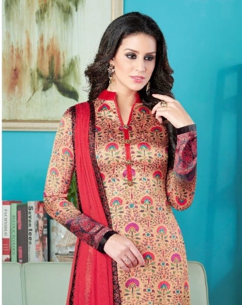 swagat raaga satin printed suits