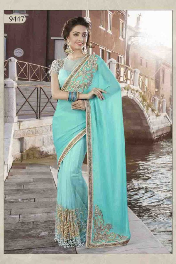 Bollywood designer party wear saree