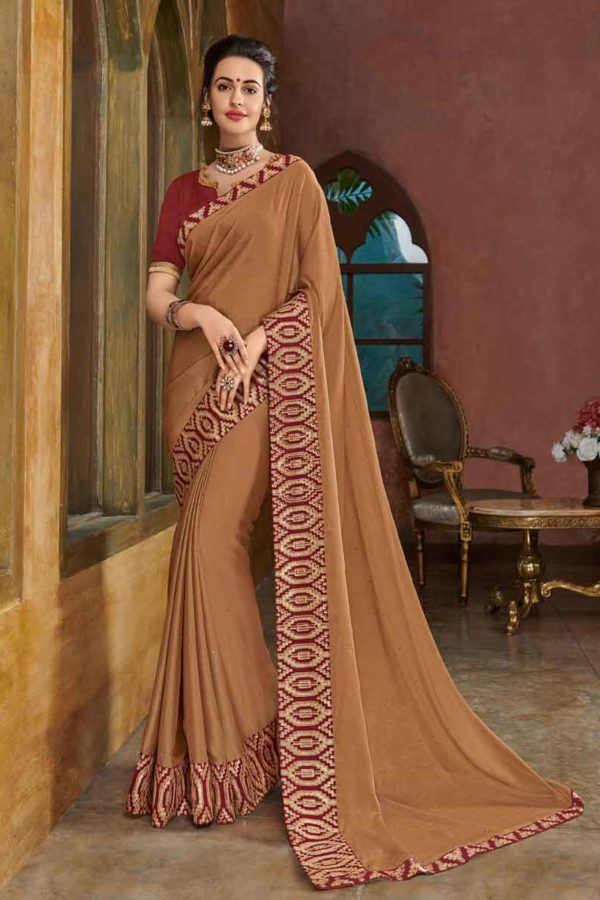 fancy sarees for wedding