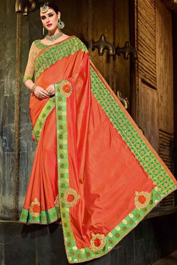 fancy saree for wedding