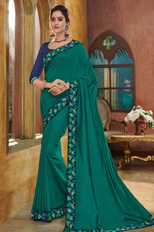 party wear sarees in kerala