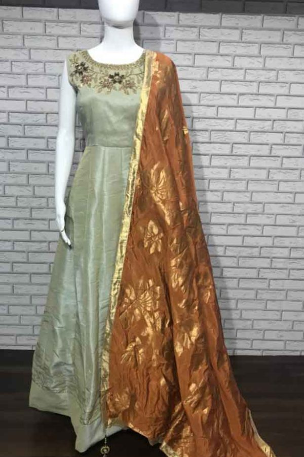 Evening Party Wear Gown