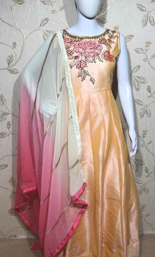 Pink Dress For Ladies