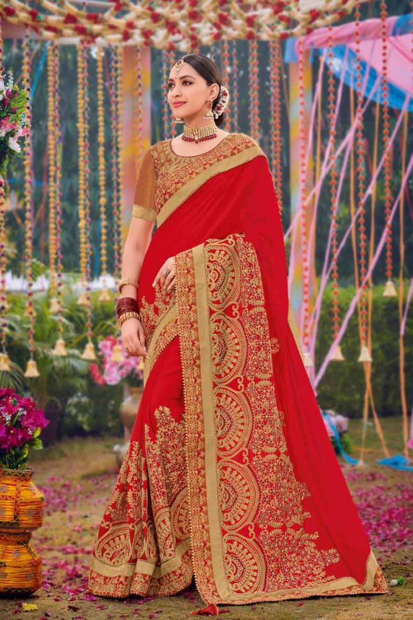 Red Saree For Wedding