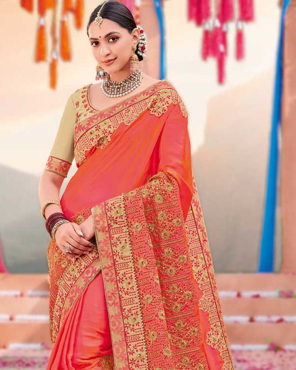 Designer Saree For Wedding