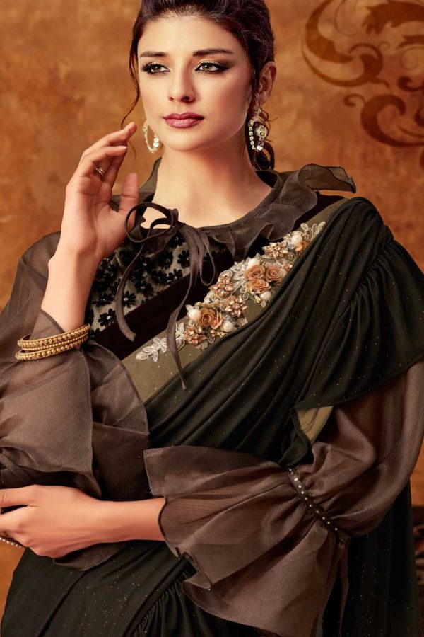 Fancy Saree For Party Wear