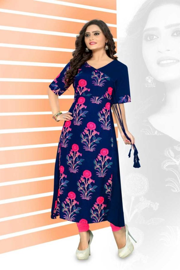 Kurti High Neck Design