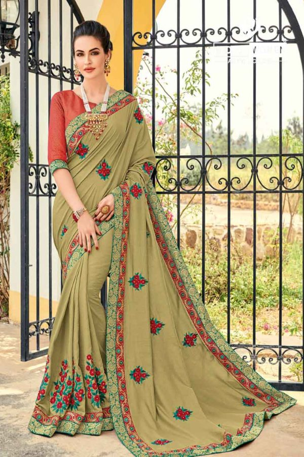 Silk Saree Party Wear