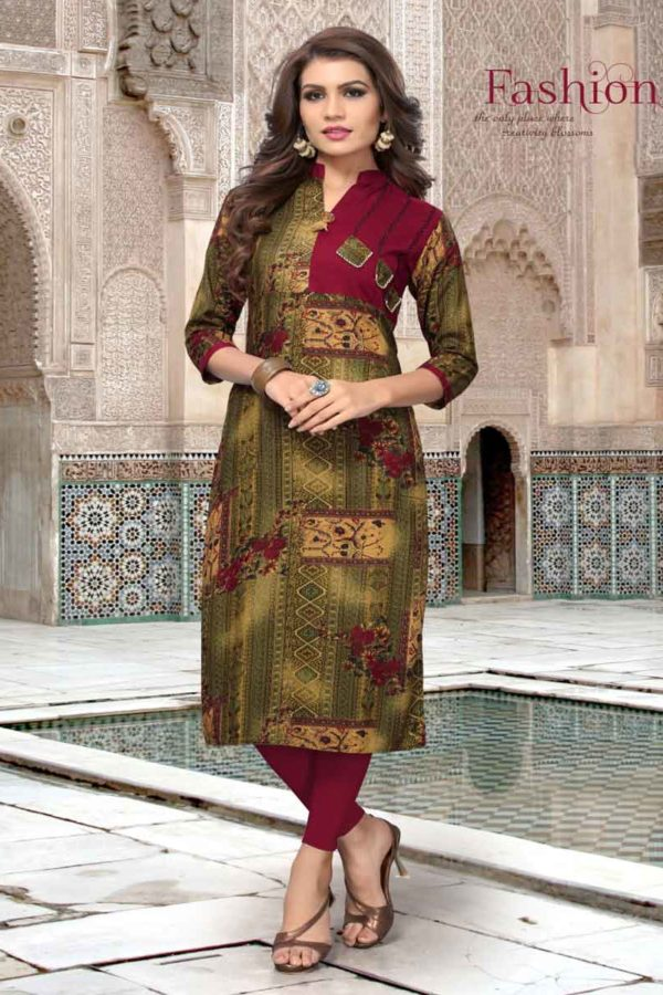 Kurti Neck Design With Collar