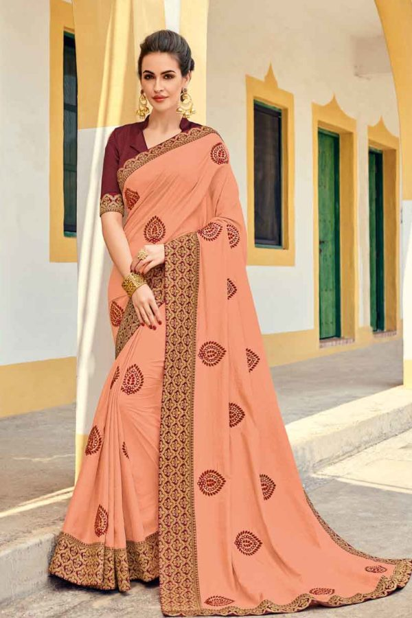 Silk Saree Design With Price
