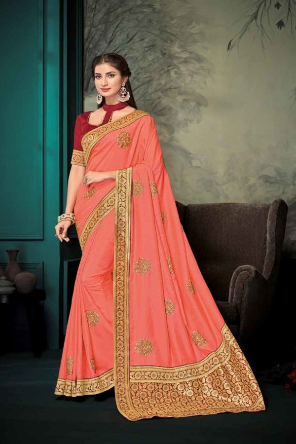Saree Style For Wedding