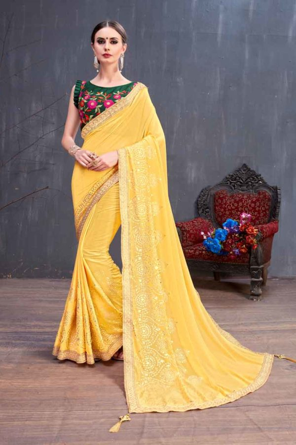 New Trend Of Saree