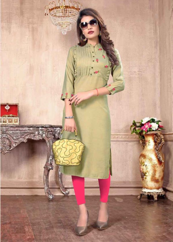 Latest Style In Kurtis