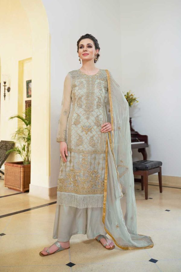 Suit With Palazzo Pant
