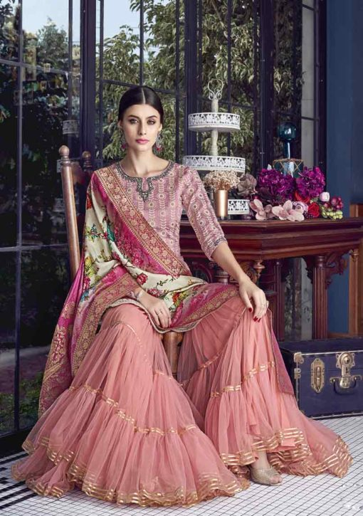 Pakistani Suits With Sharara