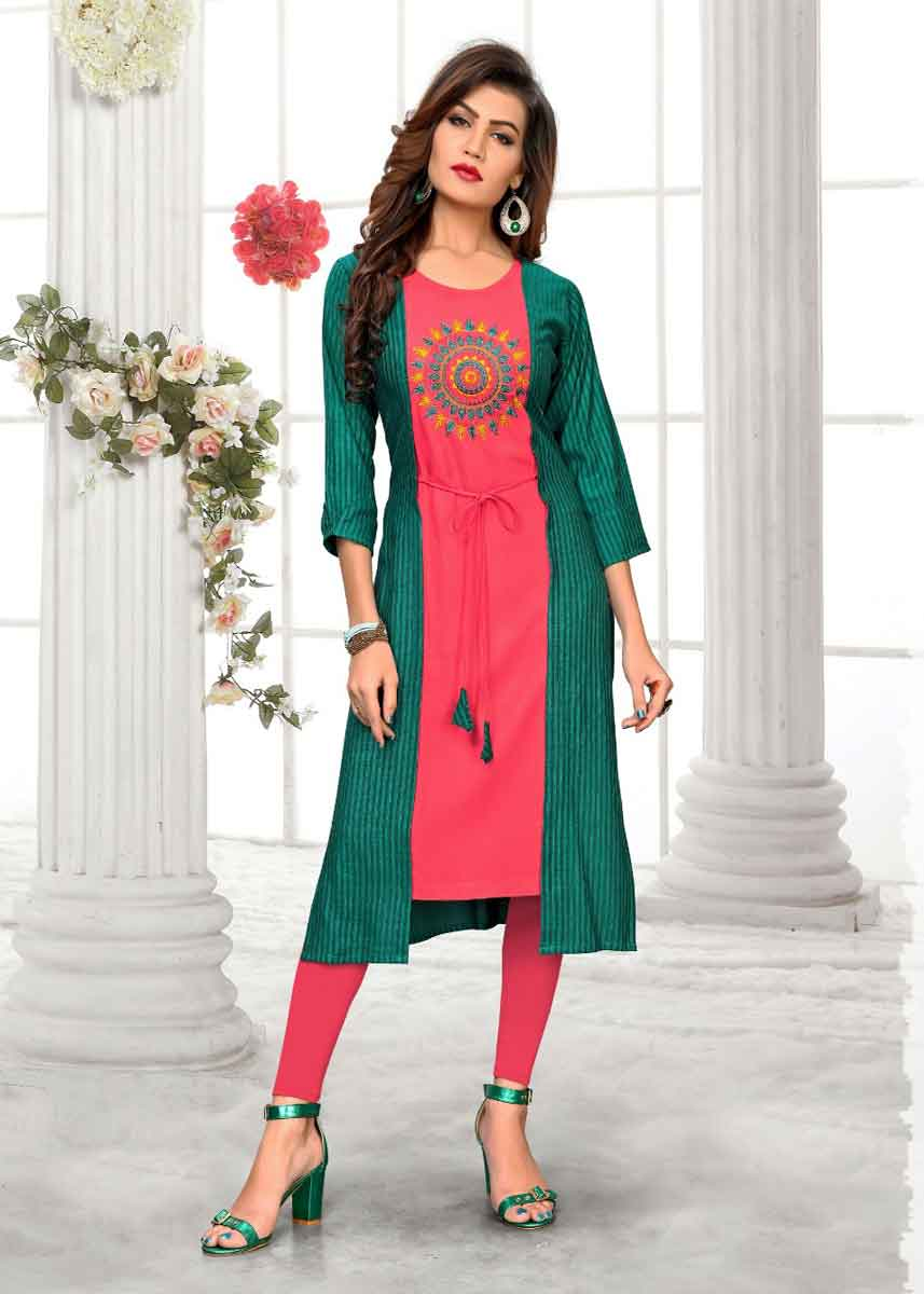 Designer Kurtis For Jeans