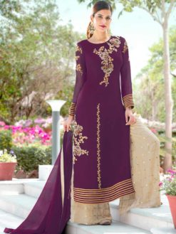 Pakistani Designer Plazo Suits