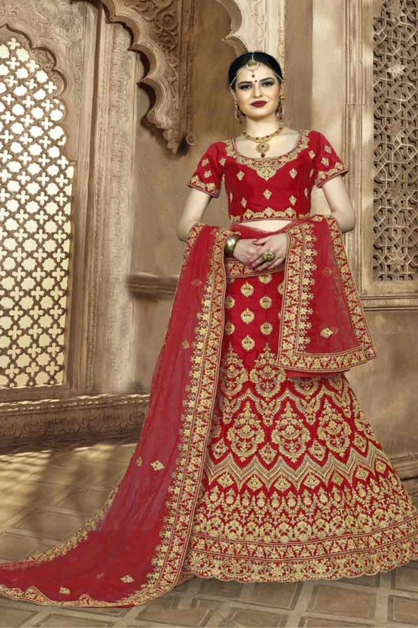Red Lehenga Bride