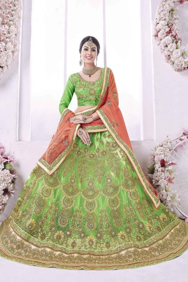 Latest Designer Lehengas For Bride