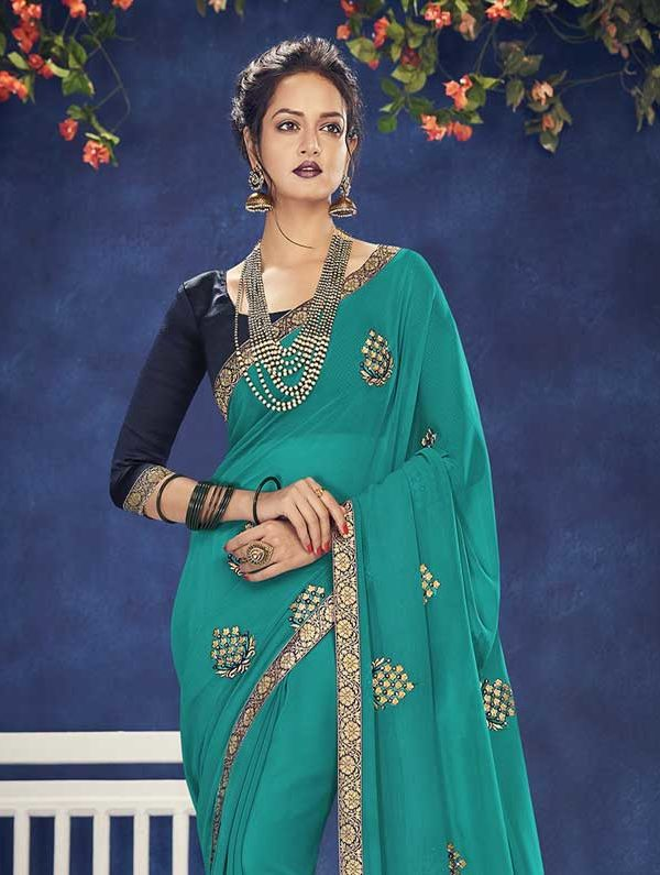 Saree In New Fashion