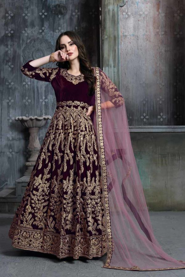 Anarkali Suit Pakistani
