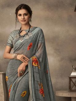 Fancy Sarees For Party Wear
